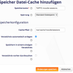 Moodle-tmpfs-Speicher-Sessions